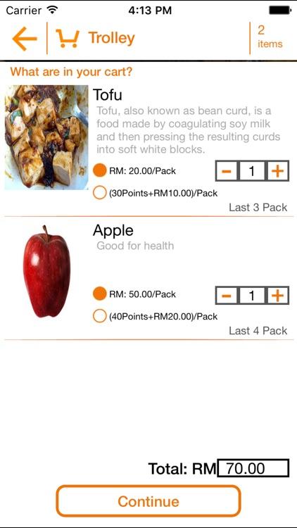 Healthy Food Hub screenshot-3