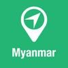 BigGuide Myanmar Map + Ultimate Tourist Guide and Offline Voice Navigator