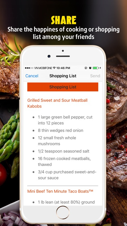 Yummy Beef Recipes screenshot-4