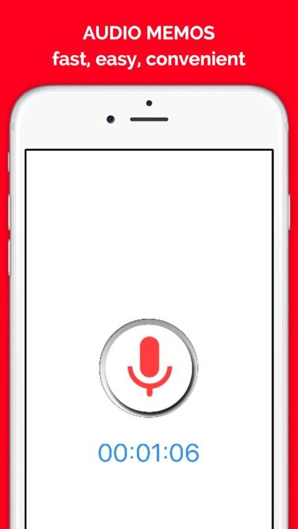 QuickVoiceEx - Voice Recorder, Audio Memos