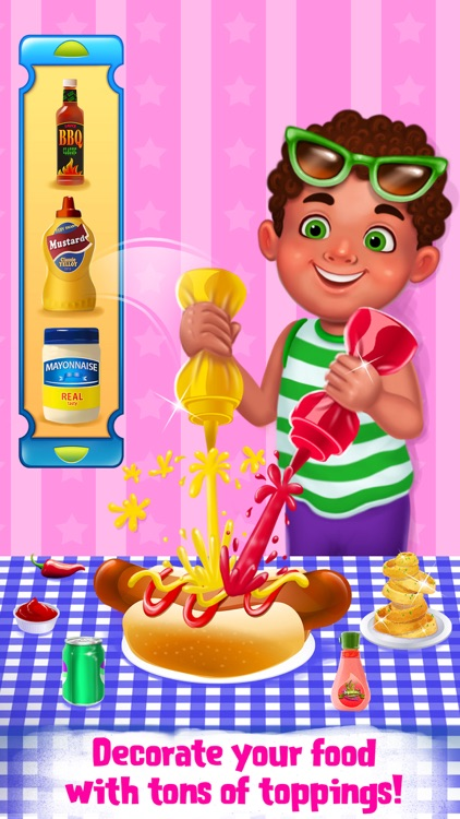 Burgers & Shakes - Fast Food Maker screenshot-3