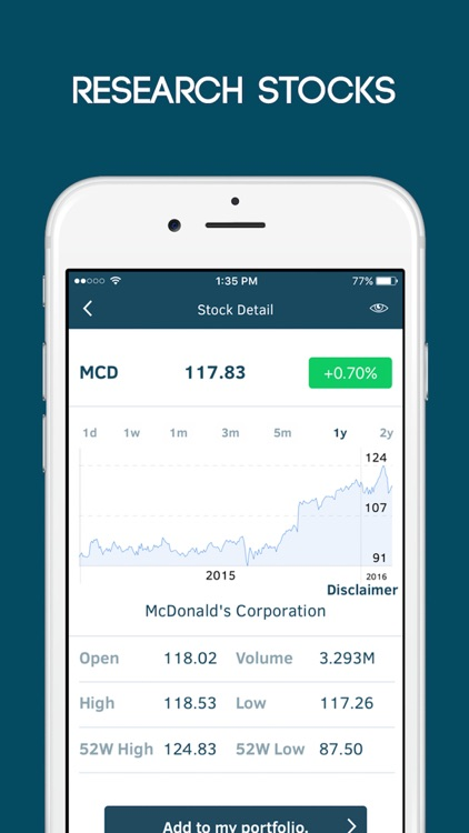 Contango: The Stock Market Gaming App screenshot-2