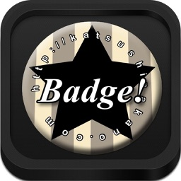 Button Badge Maker - with PDF, E-mail and AirPrint Options