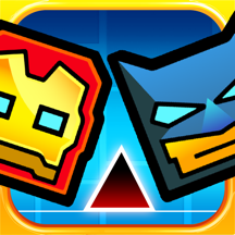 Justice Geometry Squad - Meltdown Heroes Dash