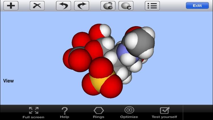 3D Molecules View&Edit Lite