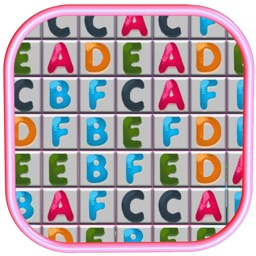 Alphabet Match Addetive Fun Match Three Puzzle Game For Kids
