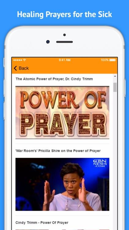 The Power of Prayer - Healing Prayers for the Sick screenshot-3