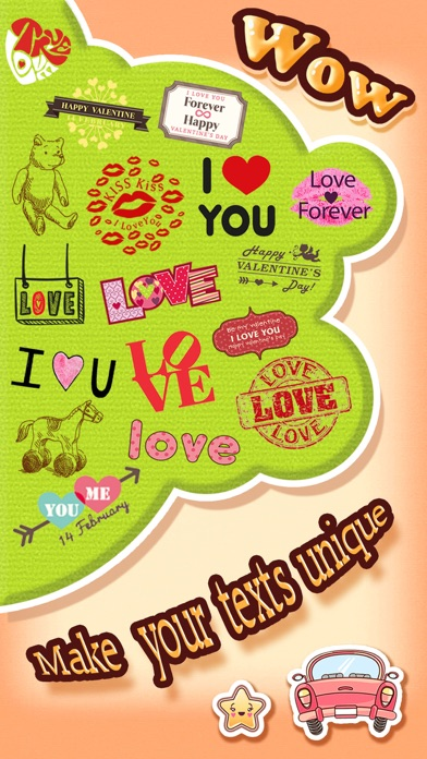 Love Emoji Stickers for Adult Messages & Email on