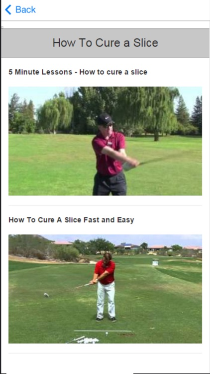 Golf Instruction - Improve Your Golf Tips & Videos screenshot-3