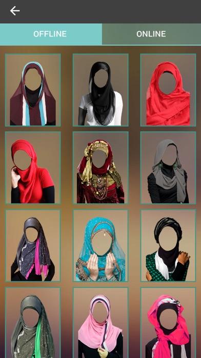 Hijab Woman Photo Making - Montage screenshot four