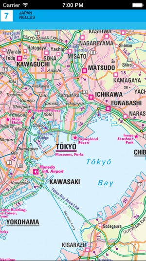 Japan Tourist map on the App Store