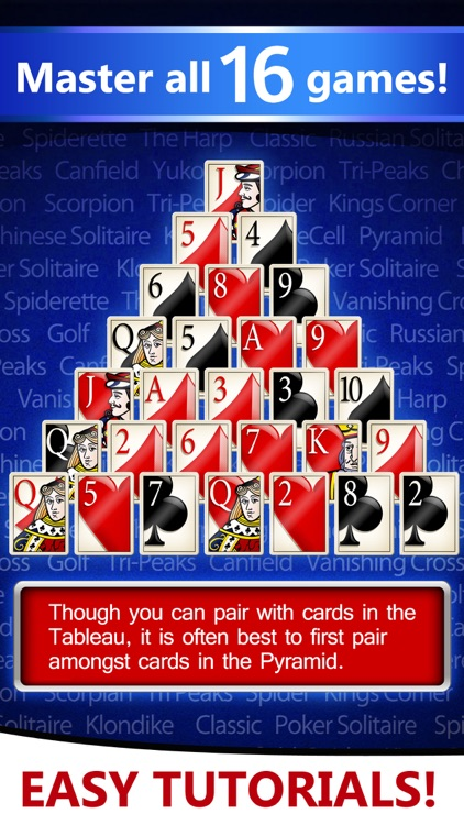 Solitaire Deluxe® 16 Pack: Classic, Spider, more screenshot-3