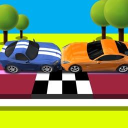 Slots Cars Smash Crash: A Wrong Way Loop Derby Driving Game