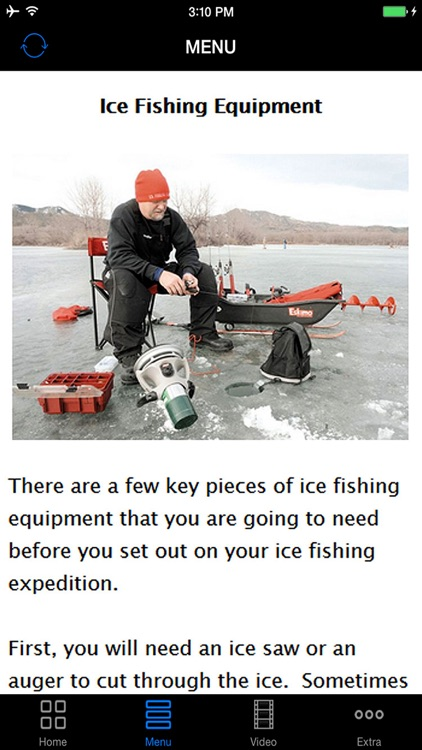 Learn Ice Fishing - Best Easy Instruction Video Guides & Tips For Beginners screenshot-3