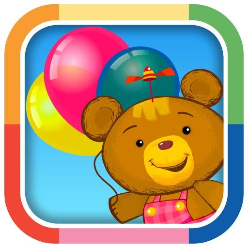 Preschool Balloon Popping Game for Kids