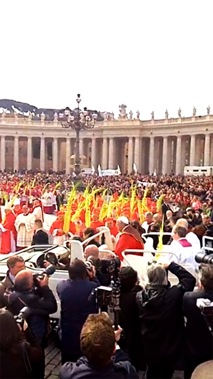 VR Virtual Reality press360 First Palm Sunday with Pope Francis screenshot-3
