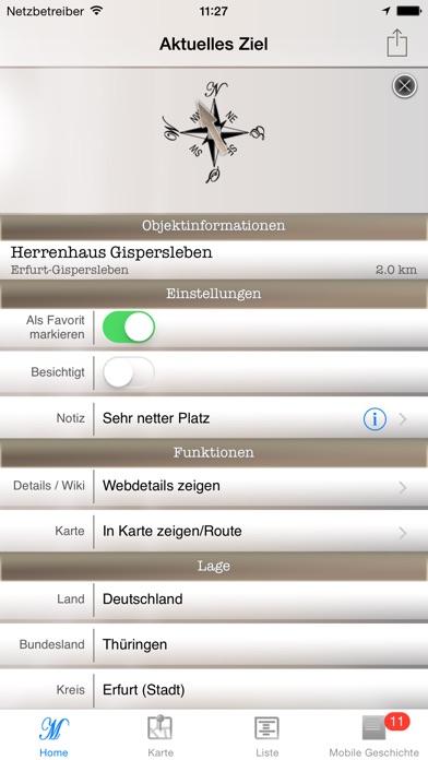 Mobile Geschichte - Burgen und SchlösserScreenshot von 2