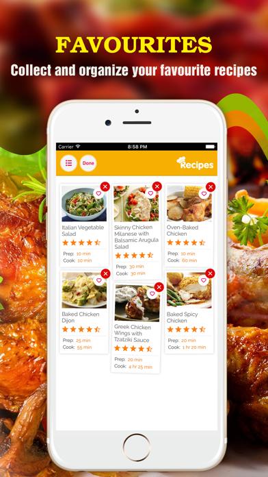 Yum Chicken ~ Best Healthy Chicken Recipes screenshot four