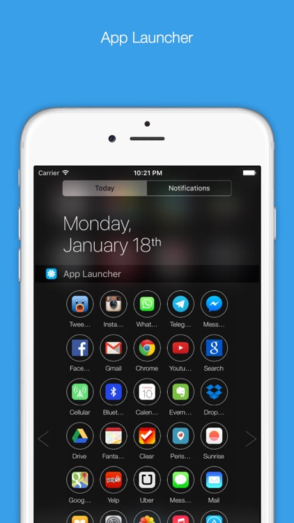 Orby Widgets - To Make Notification Center Even More Useful screenshot-1