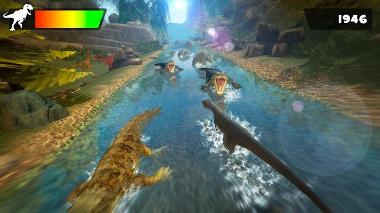 Dino Life . Jurassic Dinosaur Hopper Simulator Games For Free screenshot-4