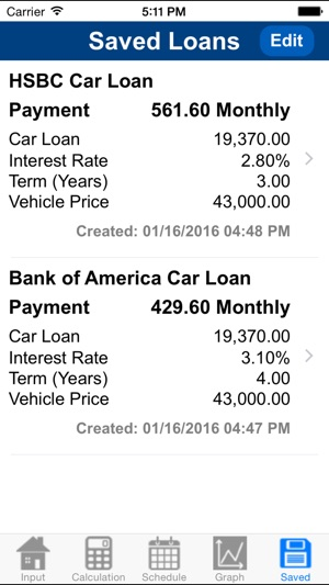 How To Calculate Interest On A Car Loan >> Car Loan Calculator Plus On The App Store