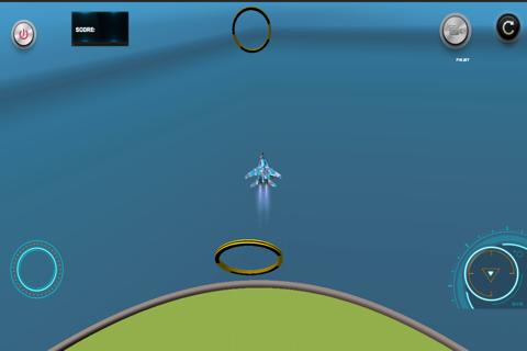 Flight Simulator The Ring Challenge - náhled