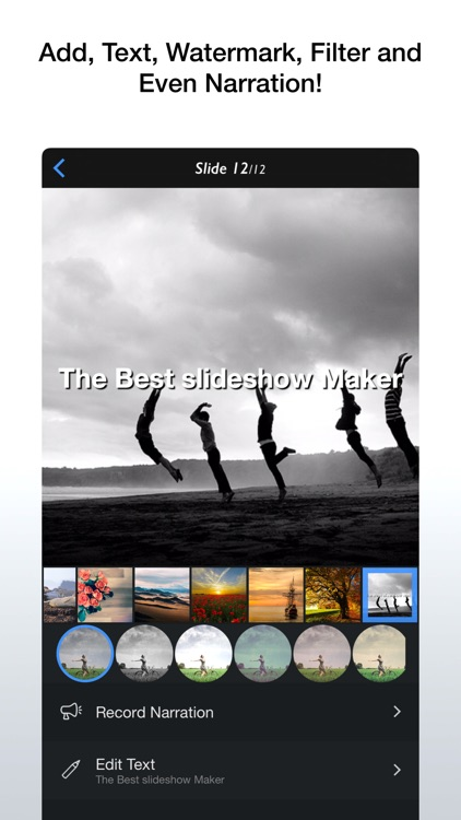 InstaSlide+ - Movie Maker screenshot-3