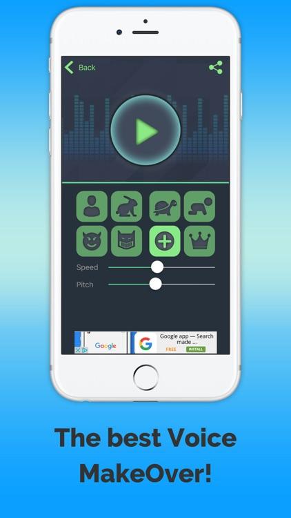 VoiceChange-effects screenshot-3