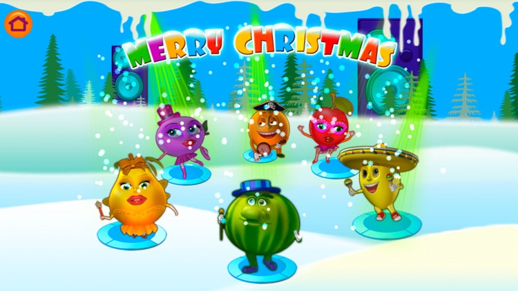 Merry Cubes HD - 3d cube fruit puzzles to develop fine motor skills screenshot-0