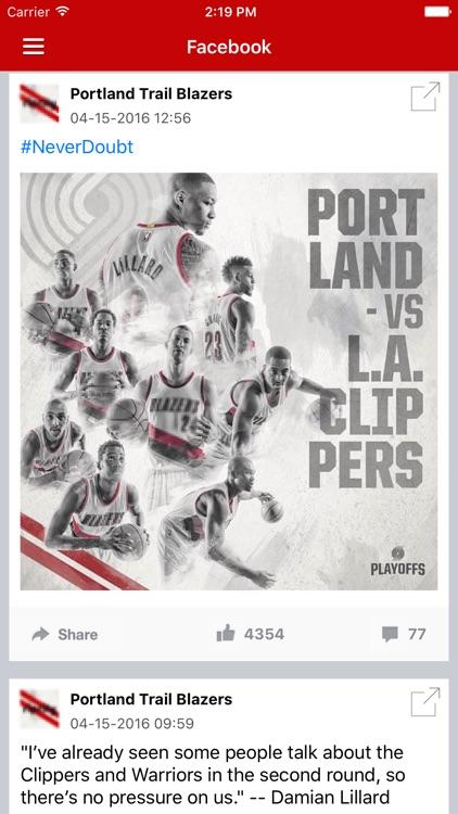 News Surge for Trail Blazers Basketball Pro screenshot-3
