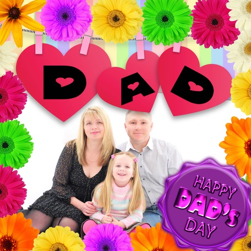Lovely Father's Day Photo Frames
