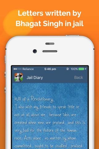 Jail Diary of Shaheed Bhagat Singh screenshot 4