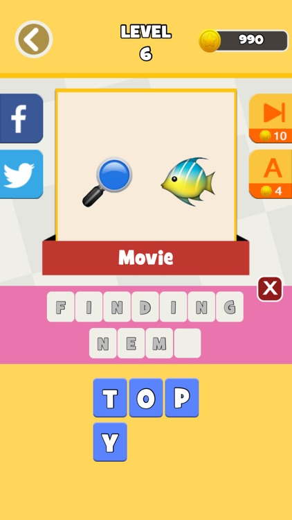 QuizPop Mania! Guess the Emoji Movies and TV Shows - a free word guessing quiz game screenshot-4
