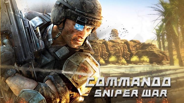 Bravo Sniper. Contract Assassin Frontline Killer Desert Duty Call 2016 screenshot-4