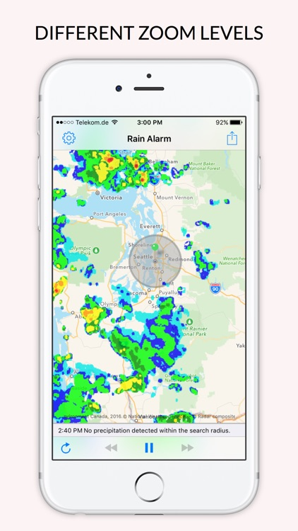 Rain Alarm - Radar & Push