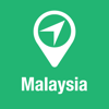 BigGuide Malaysia Map + Ultimate Tourist Guide and Offline Voice Navigator