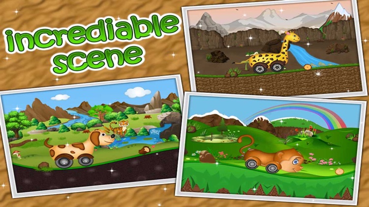 Kidzee - Animal Cars Racing Game for Kids screenshot-2