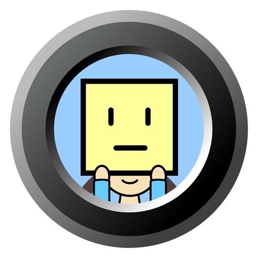 アイコン顔カメラ/icon face camera