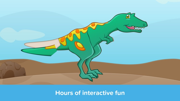 Kids Puzzles - Dinosaurs - Early Learning Dino Shape Puzzles and Educational Games for Preschool Kids Lite screenshot-4