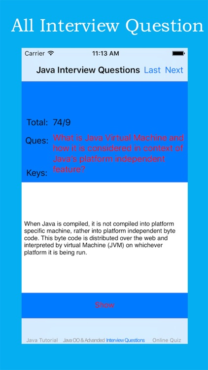 Bible of Java Interview Questions screenshot-4