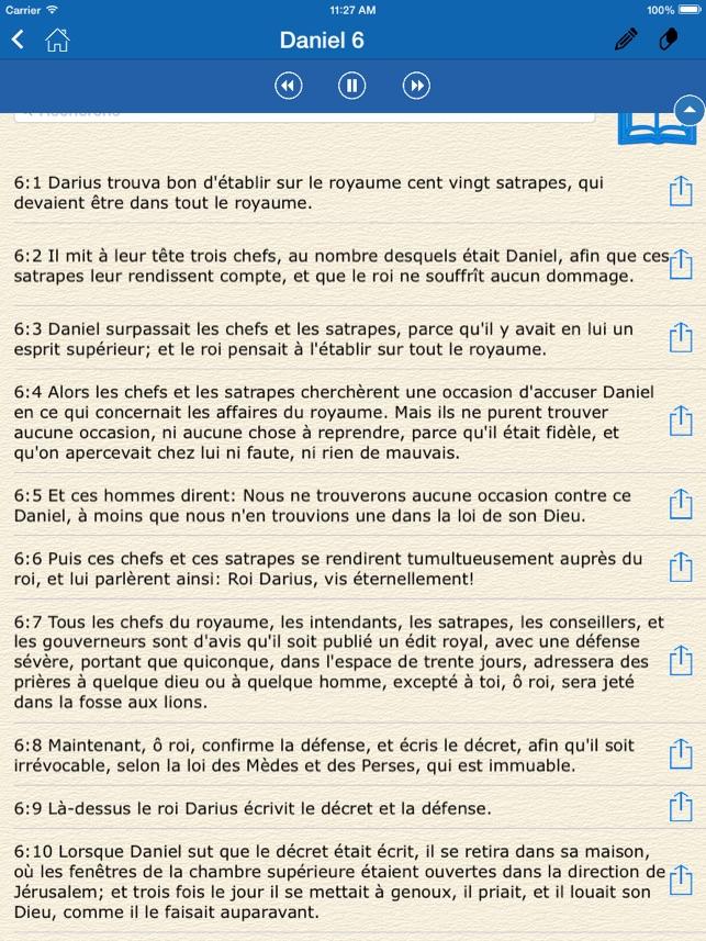 Audio Bible In French La Sainte Bible En Français Par Louis Segond