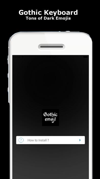 Gothic Emojis & Keyboard - Goth Emoticons and more