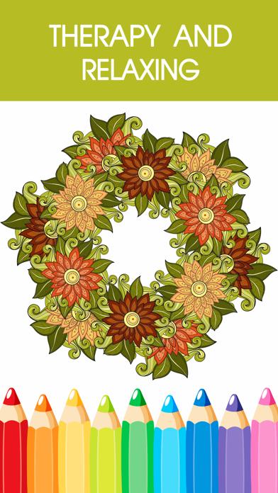 Libro Para Colorear De Mandala - Gratis Adulto Colores Páginas Del Alivio De Tensión Libre De TerapiaCaptura de pantalla de4