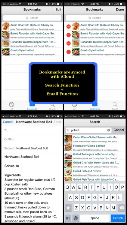 550 Fish Recipes screenshot-4