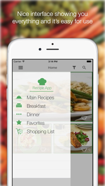 Diet Food Recipes - For A Better Shape Find All Recipes screenshot-3