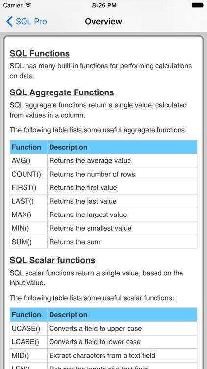 SQL Pro FREE screenshot-4