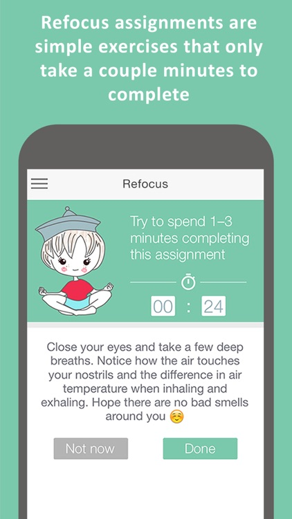 Refocus Pro - Focus and Concentration Training to boost productivity, performance, attention and memory