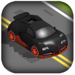 3D Zig-Zag Racing Rivals  - Drive Super-Car to Escape from Street City Run