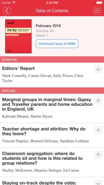 British Educational Research Journal screenshot-4