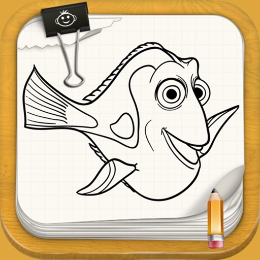 Learn to Draw For Dory And Nemo Characters